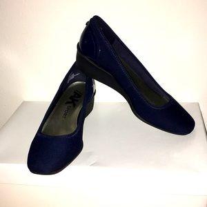 New Women's Anne Klein Slip On Wedge Shoes 6.5M